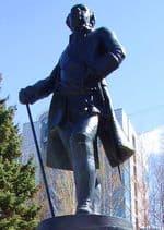 Памятник графу Шувалову в Ижевске. м