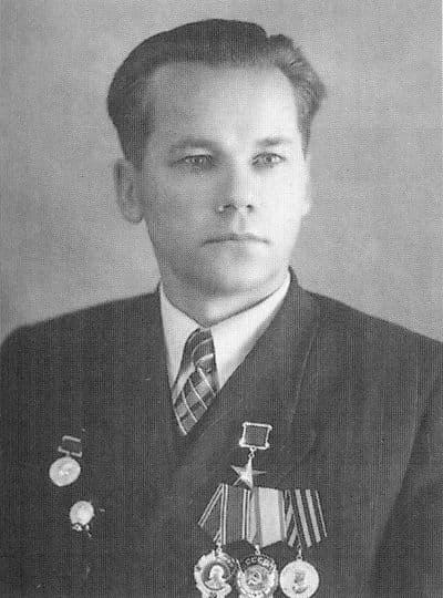 М.Т.Калашников. 1958 г.