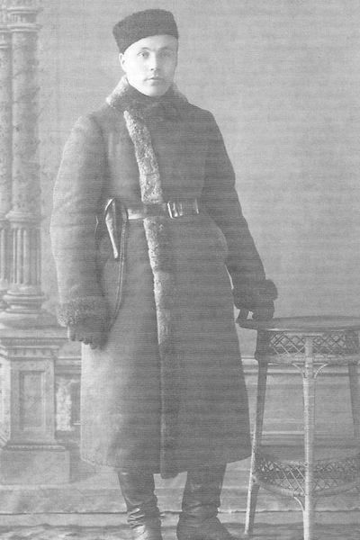 Горбунов А.И. - председатель ЧК ВАО в 1921 - 1924 гг.
