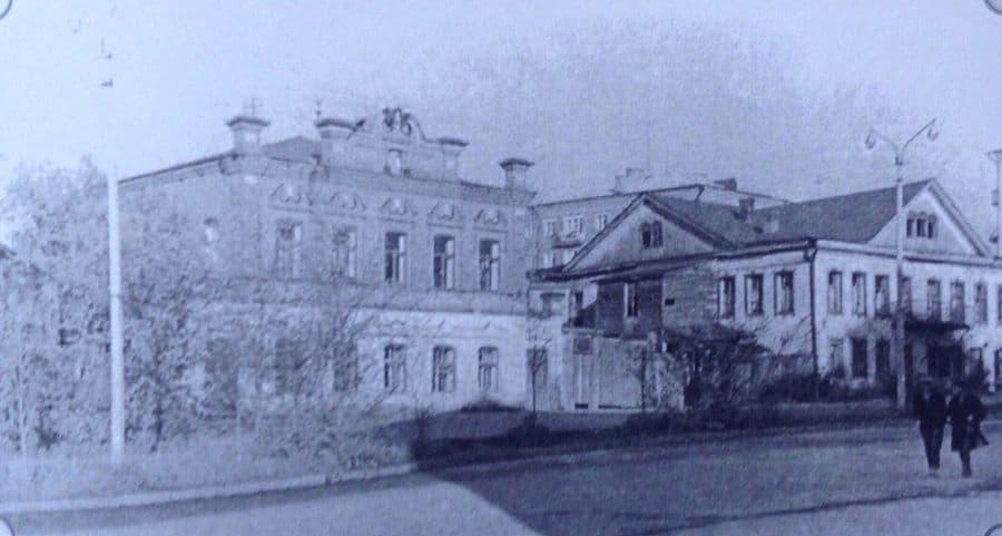Дом Оглоблина. Улица Красноармейская. Ижевск. 1960-е гг.