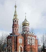 Ижевск. Казанско-Богородицкий храм.