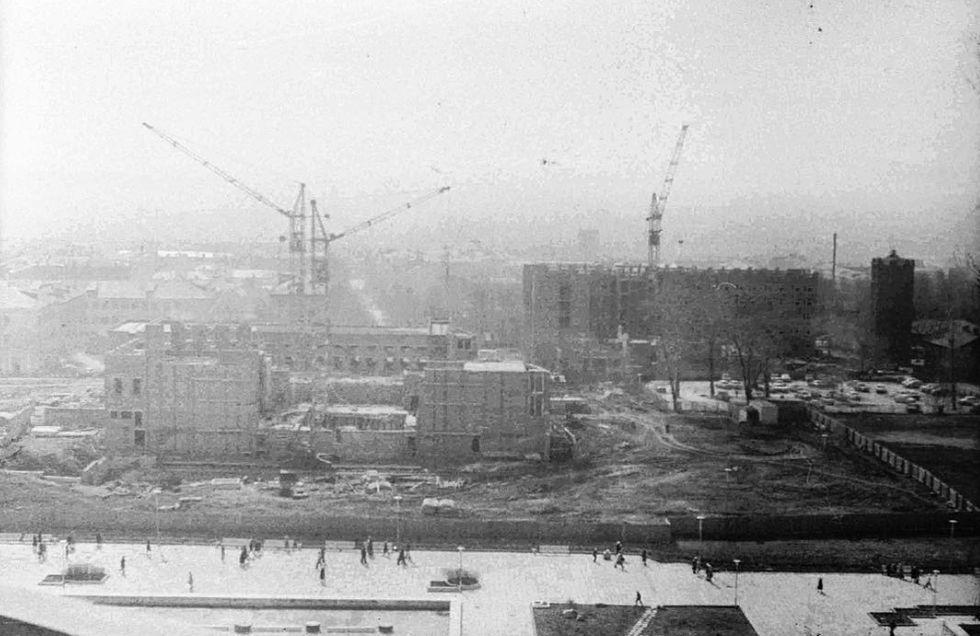 Строительство театр оперы и балета на Центральной площади Ижевска.