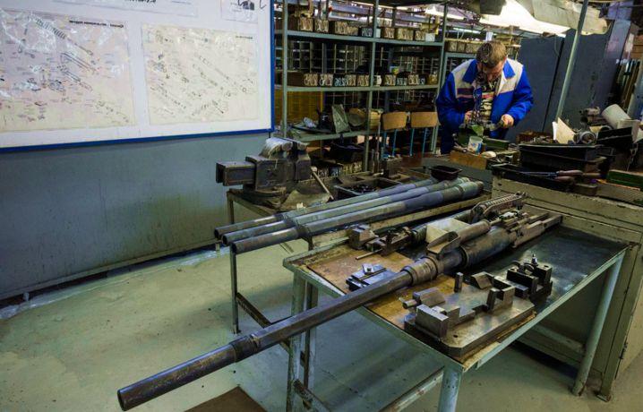 Изготовление авиационных пушок на концерне «Калашников».
