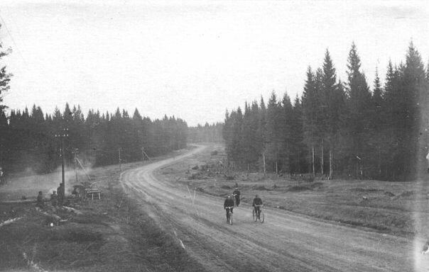 Як-Бодьинский тракт, довоенный снимок.