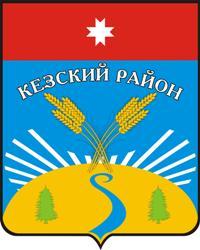 Герб муниципального образования «Кезский район».