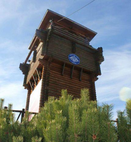 Зоопарк Ижевска. Смотровая башня.