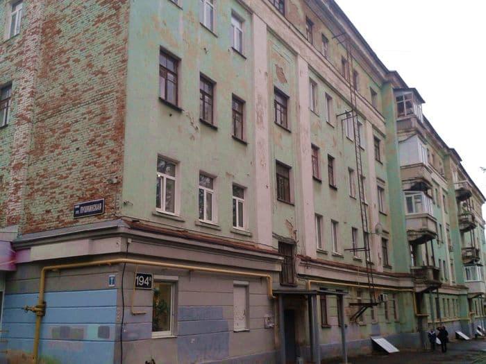 Дом на Пушкинская 194а Ижевск. Фото 2019 года. ДВА.