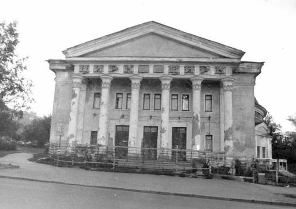 К началу 80-х годов здание Цирка обветшало. Ижевск.