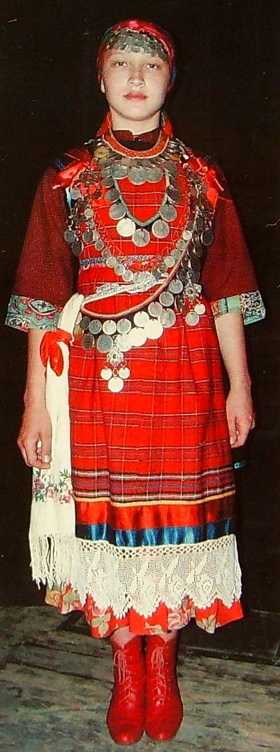 Мониста (монисто) национальное украшение удмуртов.