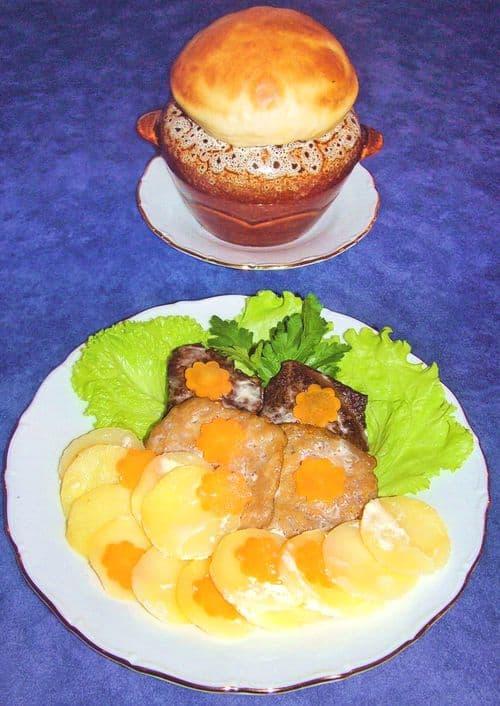 Гурнянь. Национальные блюда удмуртской кухни.
