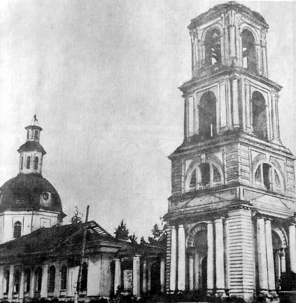 Храм Вознесения  Господня в селе Узи.