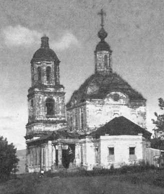 Мостовое. Храм в честь Св.Троицы. Удмуртия.