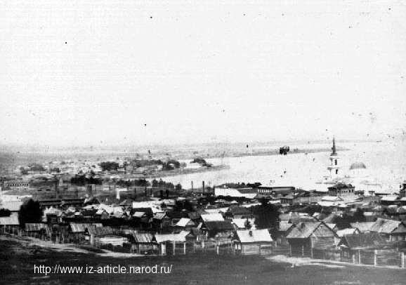 Воткинский завод. Фото конца XIX в.