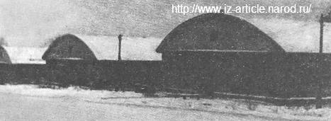 Общий вид механических цехов (завода №203 им. Г.К.Орджоникидзе). Сарапул. 1941 г.