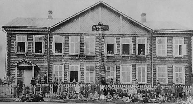 Церковно-приходская школа в с.Балезино. 1887г.