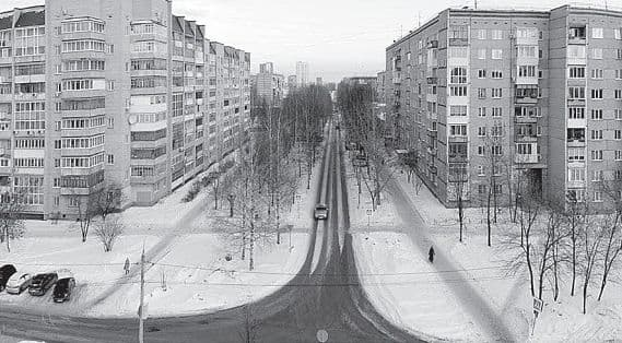 Улица Надежды Курченко Ижевск.