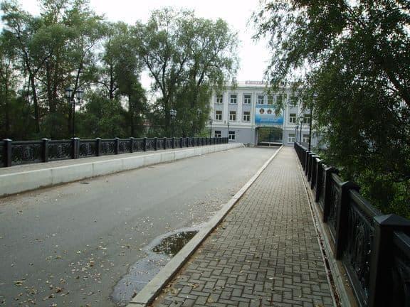 Первый мост в Ижевске - Долгий мост.