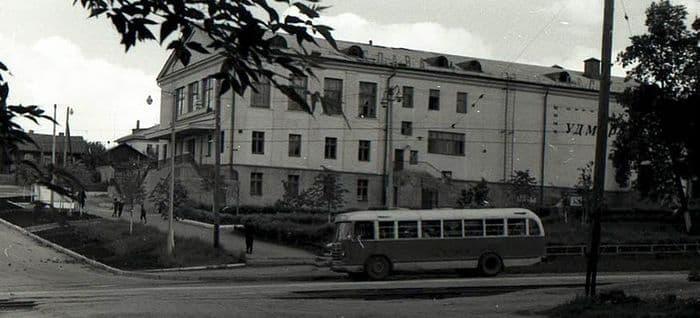 Кинотеатр Удмуртия. Ижевск.
