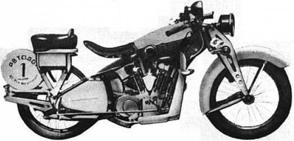 Мотоцикл иж-3
