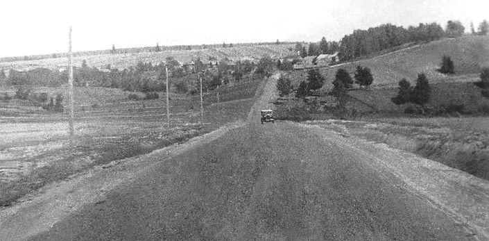 Дороги Удмуртии. Фото.