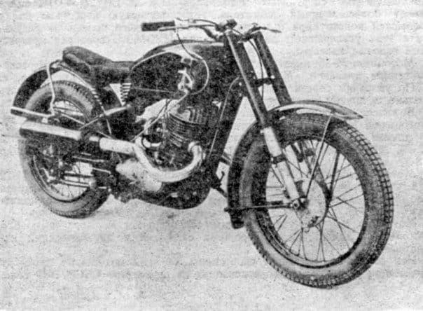 Мотоцикл ИЖ-350С