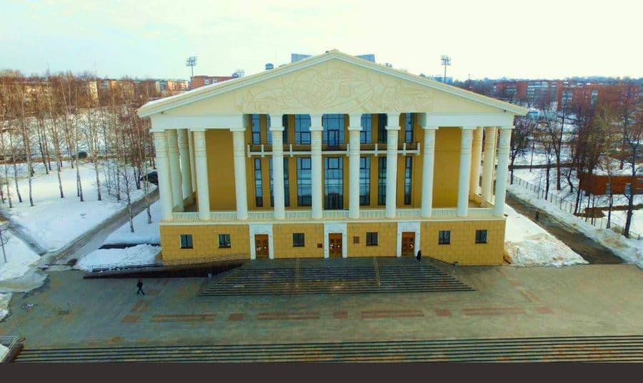 ДК Юбилейный. Улица Мира, 19. Воткинск. Фото 2017 год