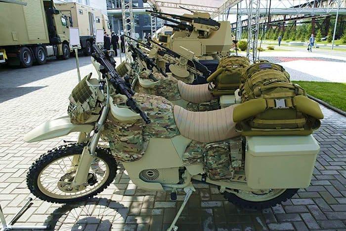 Электромотоцикл ИЖ для спецслужб.