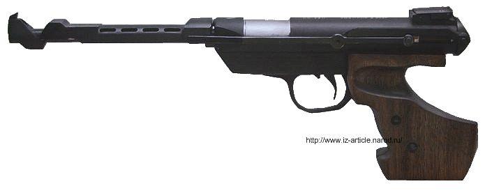 Пистолет пневматический ИЖ-33.