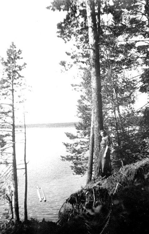 Парк Кирова. 1930-40-е годы. Фото К.А. Тихонова.
