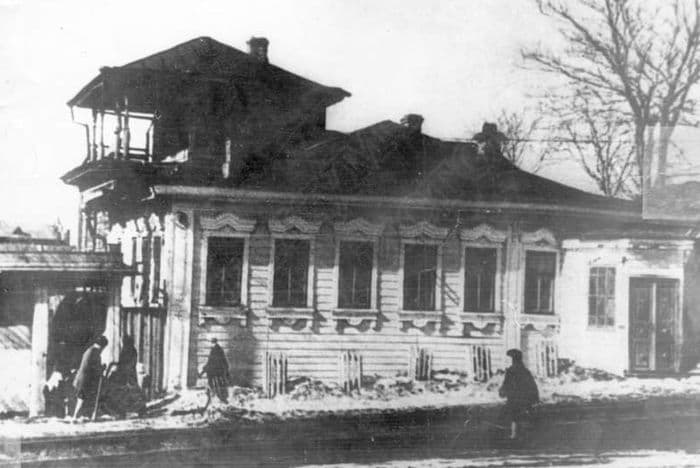 Дом Нотариуса Грачевского на улице Старой Ижевск.
