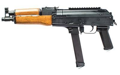 9-мм автомат Калашникова, использующий магазины от пистолетов Glock.