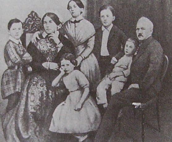 Семья Чайковского.