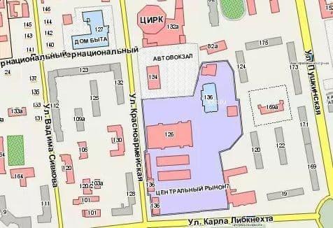 Центральный рынок в Ижевске.
