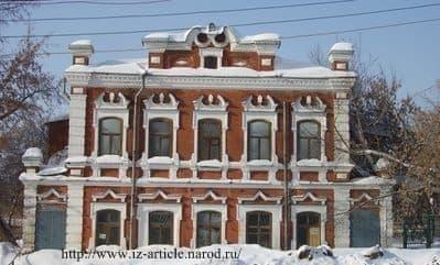 Дом купца Оглоблина  Василия Георгиевича на Улице Красноармейская 129. Ижевск.