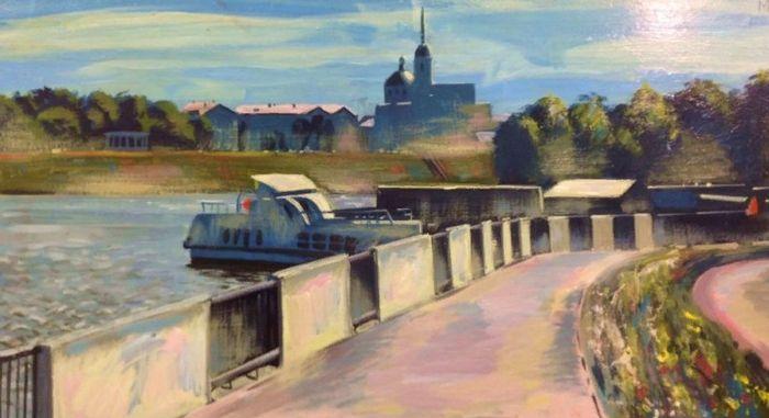 Морозов В.И - Вид на Ижевск.