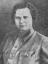 Первый начальник областного отдела БХСС Машкова Р.М. 1934г.