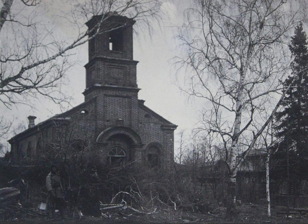 Лютеранская кирха в Ижевске 1926 г. (перед уничтожением).