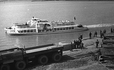 Теплоход М-221. Ижевский пруд.