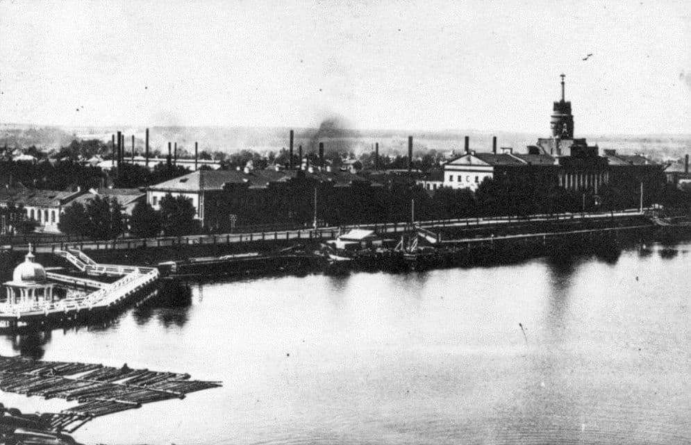 Иордань. Башня Ижевского оружейного завода. Плотина.