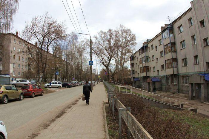 Улица 50 лет Пионерии. Ижевск. 2018 год.