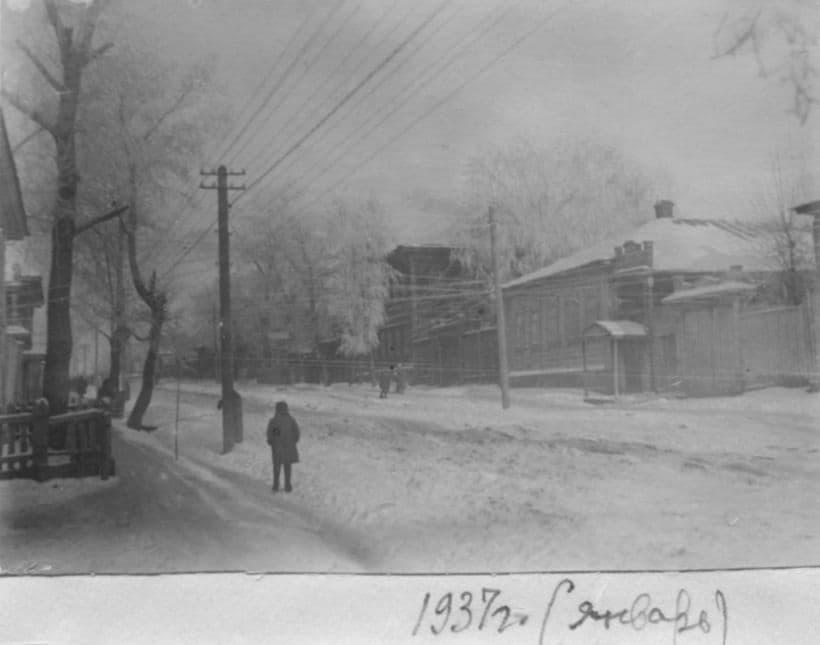 Улица Красная, Ижевск. 1937 год.