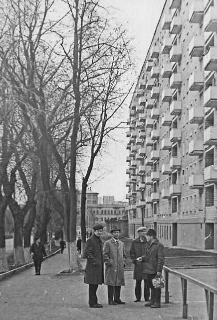 Дома Горького 162 и 164. Ижевск. 1974 г.