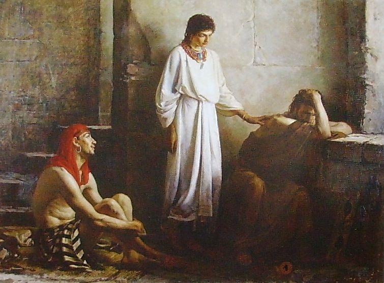 Винцман. Иосиф, толкующий сны. 1875 год. Музей изобразительных искусств Ижевск.