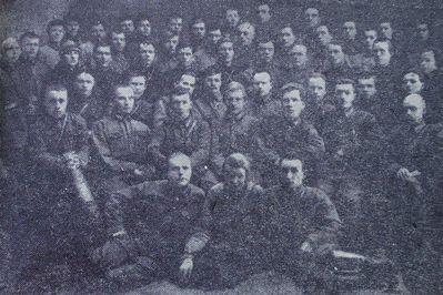 Личный состав можгинского управления рабоче-крестьянской милиции.