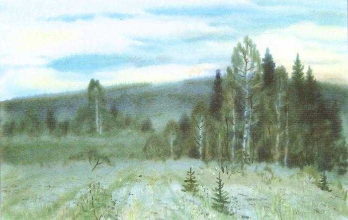 Кузнецов Владимир Петрович. Летние сумерки. 1997.