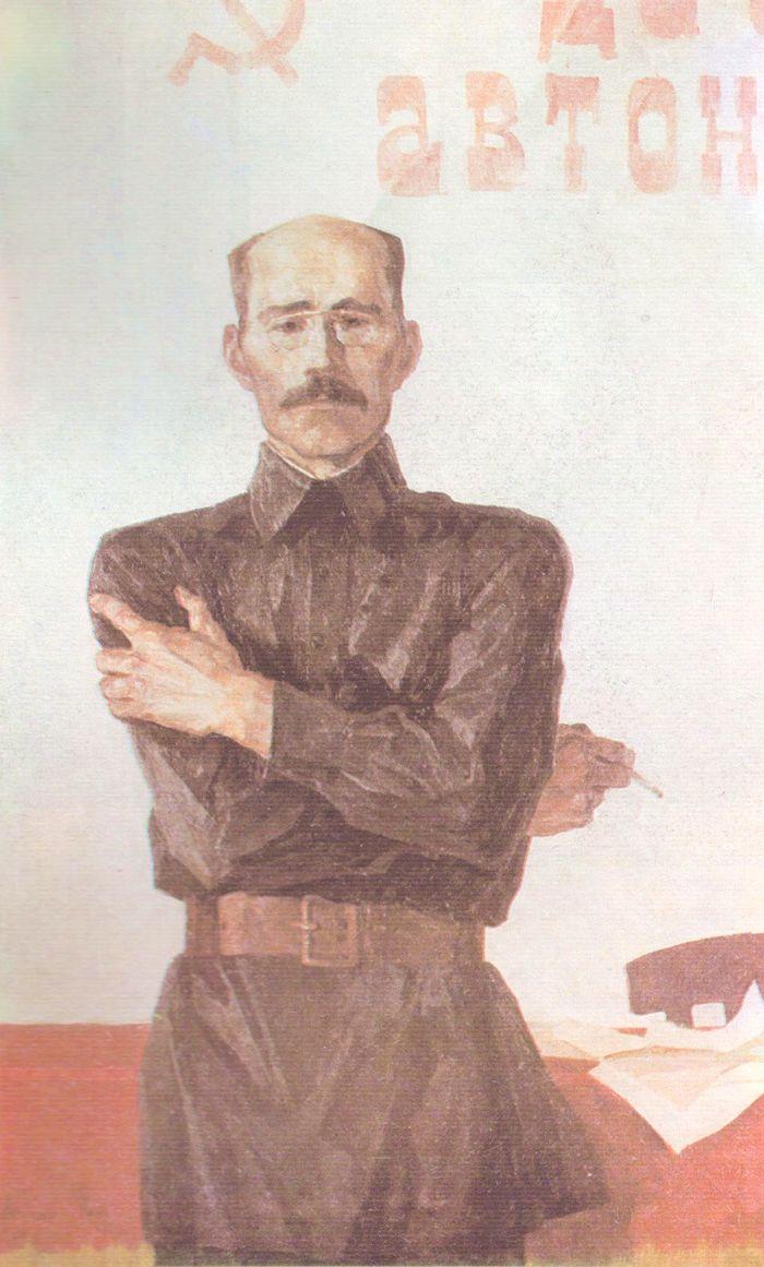 Первый председатель Удмуртской автономии И.А.Наговицын. Холмогоров А.П