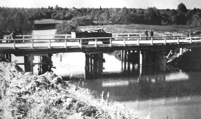 Мост через реку Уву по дороге с.Мултан - д.Пужмесь-Тукля. Удмуртия.