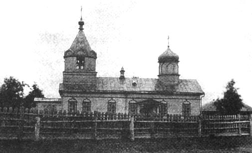 Покровская церковь с.Июльское Сарапульского уезда. Нач. XX века.