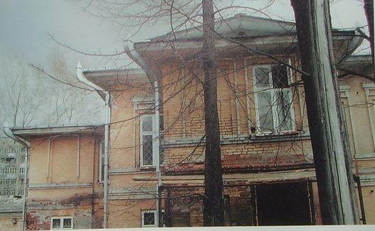 Бывший дом купца Гырдымова (ул.Кирова,8) Глазов.