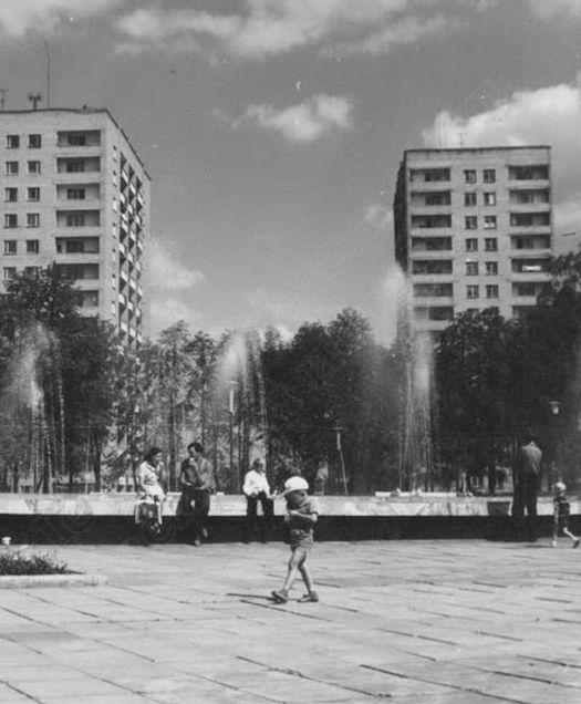 Ижевск. Центральная площадь в 70-х годов